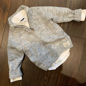 Toddler Boys Sweater Set